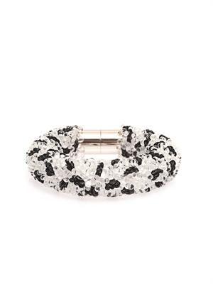 Raindrop bead-embellished bracelet