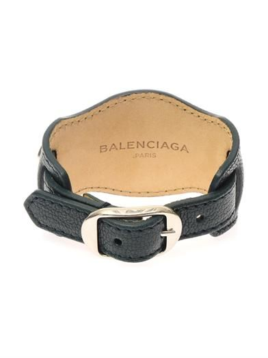 Balenciaga Studded leather bracelet
