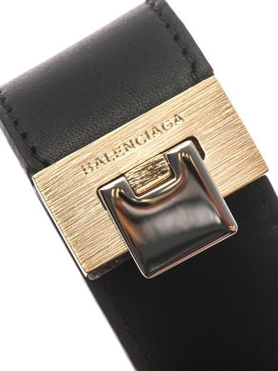 Balenciaga Le Dix leather bracelet