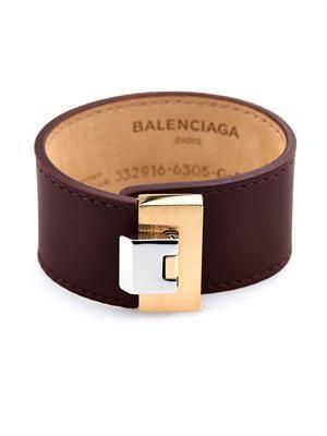 Le Dix leather bracelet