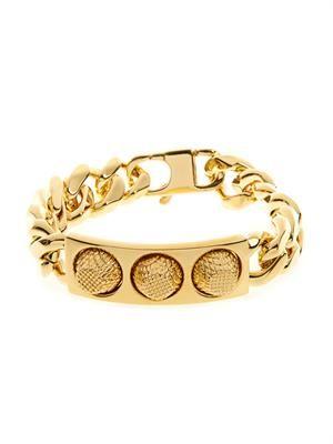 Classic stud chain bracelet
