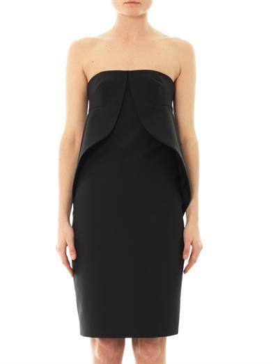 Balenciaga Swan strapless dress