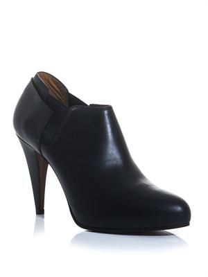 New Easy leather ankle boots