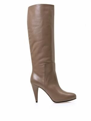 New Easy leather knee-high boots