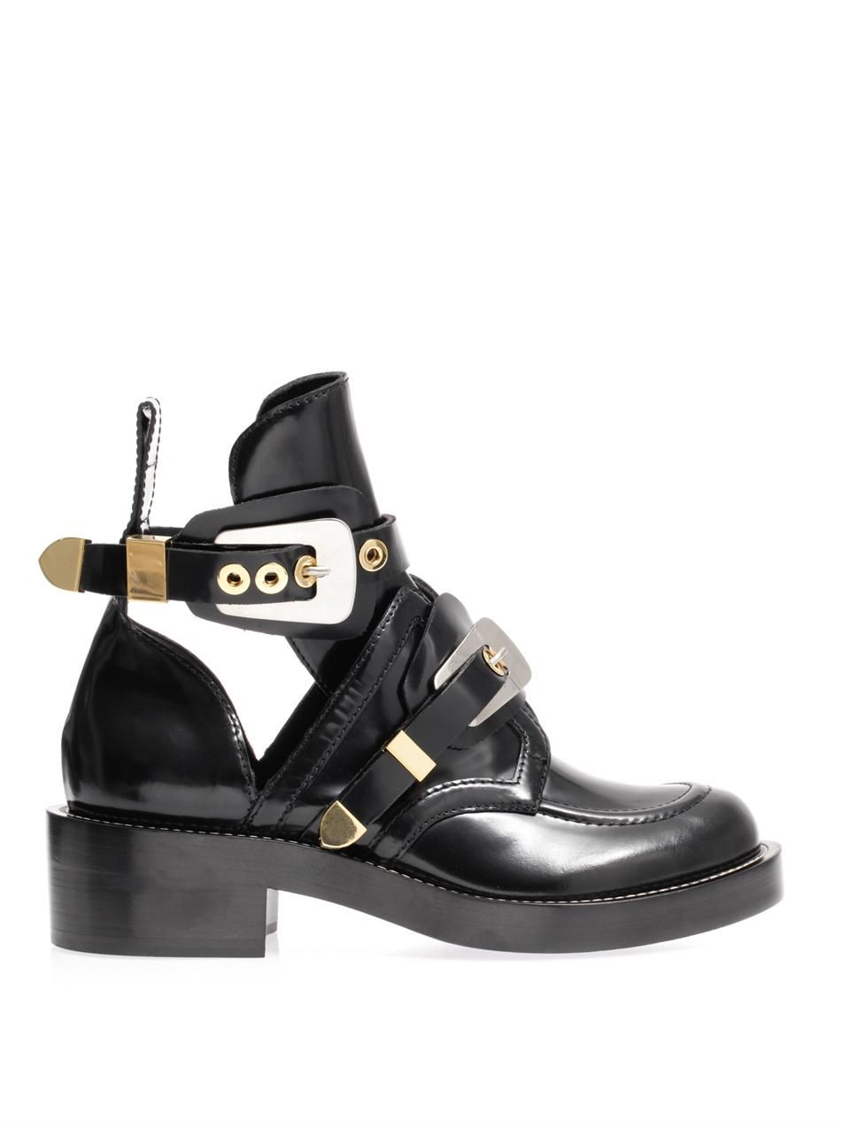 The Ceinture cut-out ankle boots