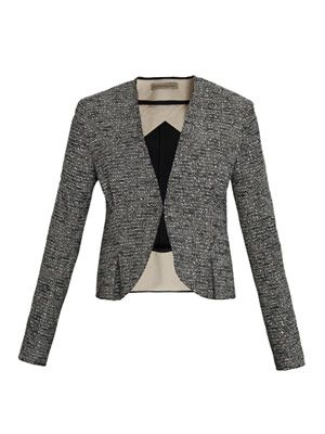 Tweed gomme jacket