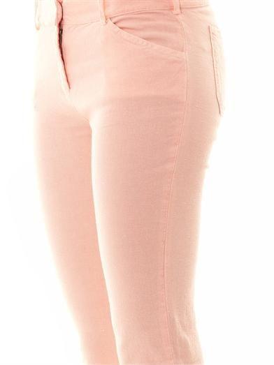Balenciaga Stretch linen trousers