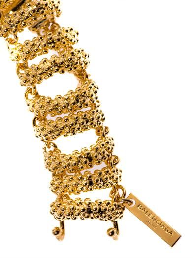Balenciaga Bubble chain necklace