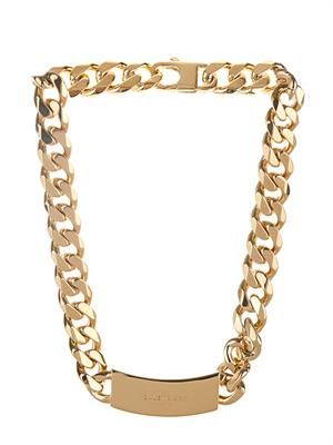 Arena-stud chain necklace