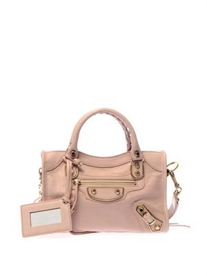 Classic Mini City edge-line shoulder bag