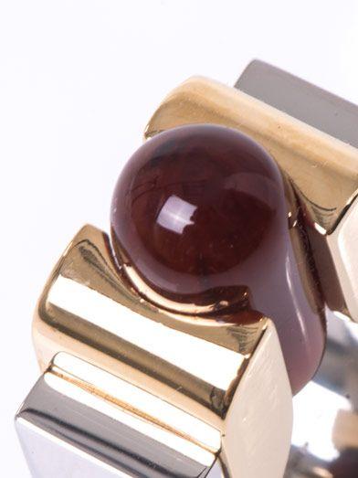 Balenciaga Round slice ring