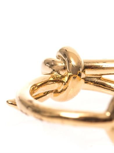 Balenciaga Asymmetric bow ring