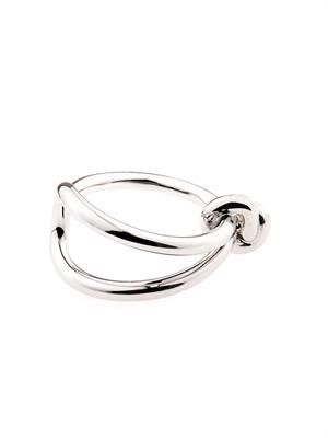 Asymmetric bow ring