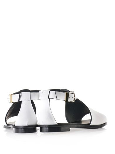 Balenciaga Glove cut leather sandals