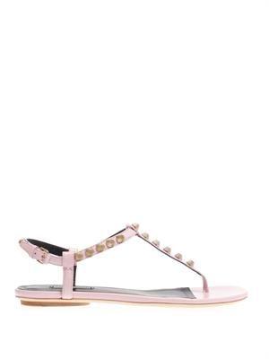 Arena studded flat sandals