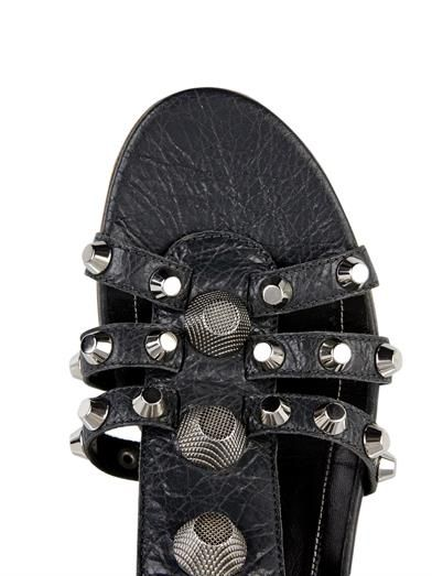 Balenciaga Arena stud leather sandals