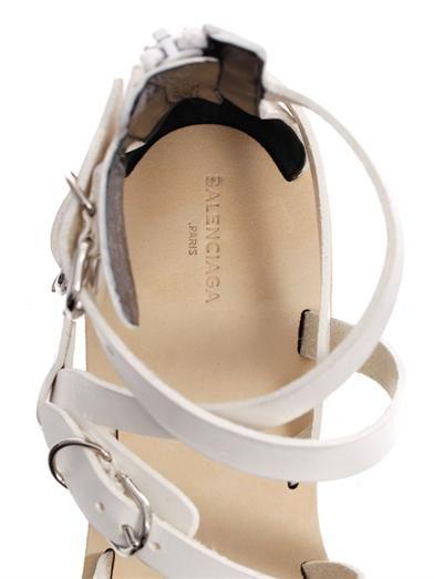 Balenciaga Bickle leather gladiator sandals