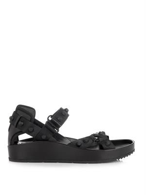 Arena rubber-studded sandals