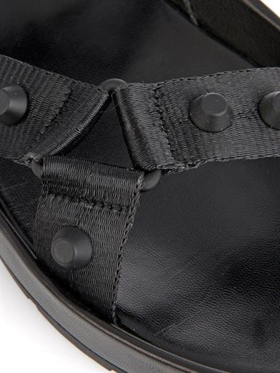 Balenciaga Arena rubber-studded sandals