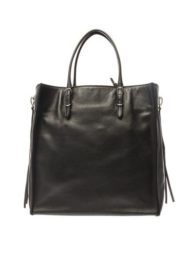 Balenciaga Papier A5 leather tote