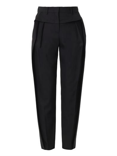 Balenciaga Pleat-front tailored trousers