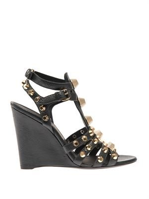 Arena stud wedge sandals