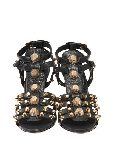 Balenciaga Arena stud wedge sandals
