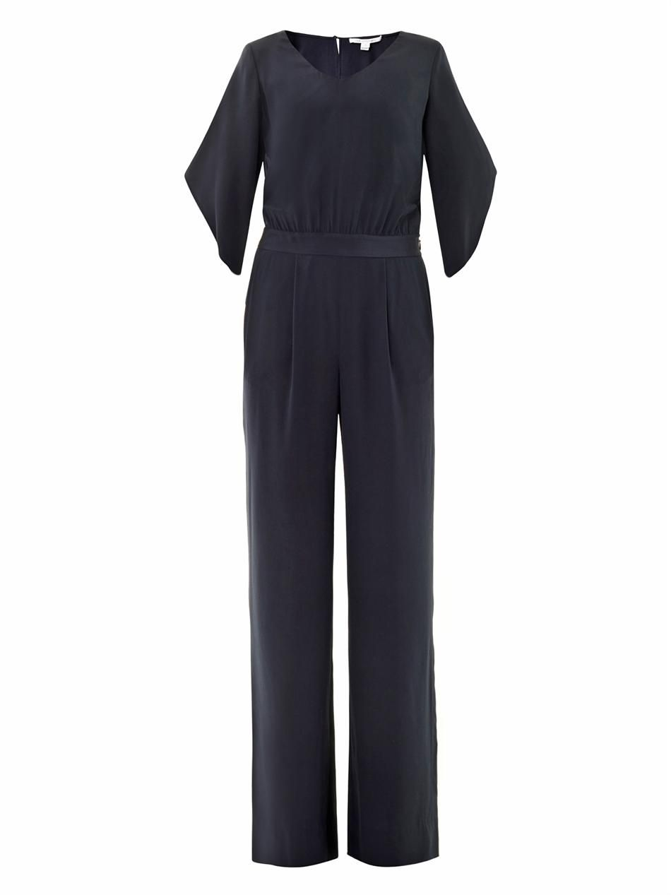 Lucy scoop-neck jumpsuit
