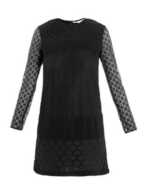 New Enny banded lace dress