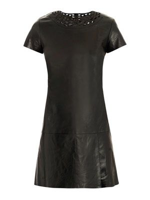 Yvanna leather dress