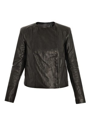 Emily leather jacket