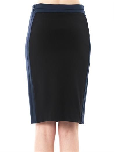 Diane Von Furstenberg Marta panel framed skirt