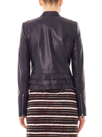 Diane Von Furstenberg Heaven leather jacket