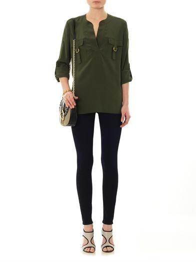Diane Von Furstenberg Danielle blouse