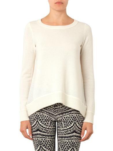 Diane Von Furstenberg Round-neck cashmere sweater