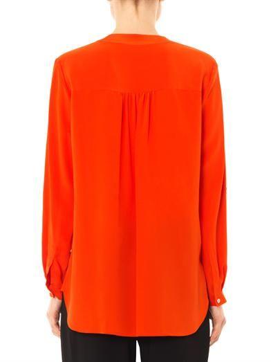 Diane Von Furstenberg Danielle silk-crepe blouse