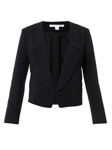 Diane Von Furstenberg Tailored crepe jacket