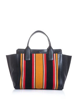 Alison East West tote