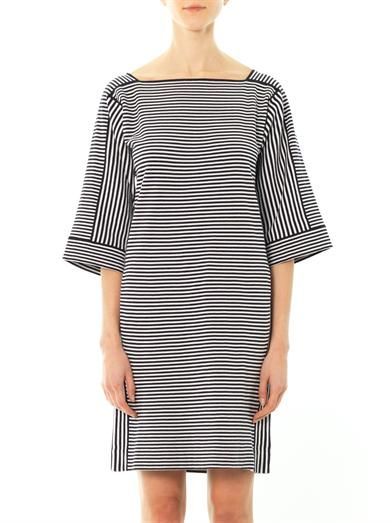 Chloé Stripe cotton-knit dress
