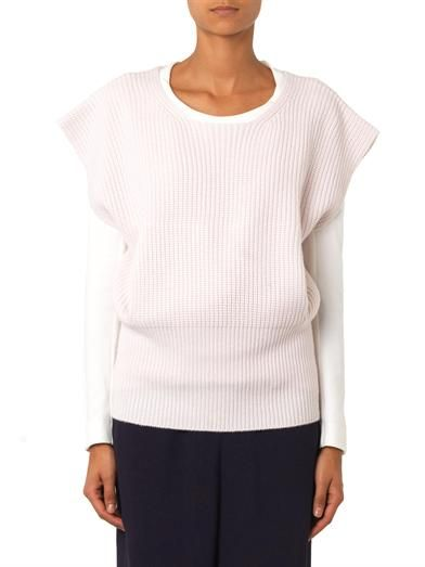 Chloé Ribbed crew-neck sweater