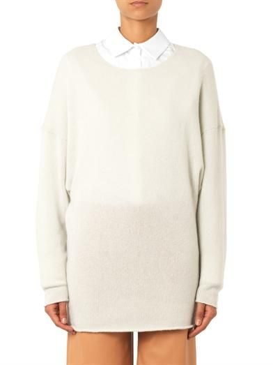 Chloé Round-neck cashmere sweater