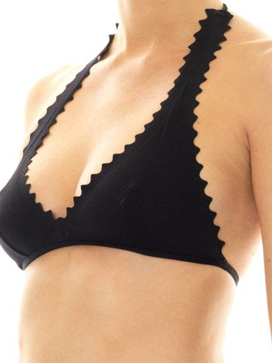 Chloé Scalloped-edge bikini