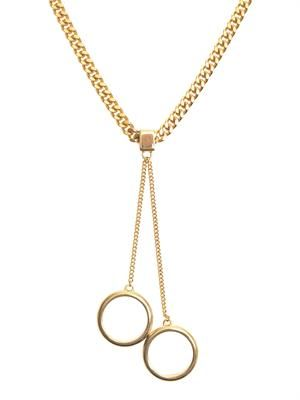 Chloe Carly heavy chain necklace