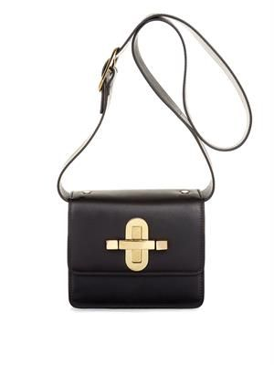 Devon leather cross-body bag