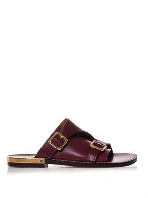 Carmen leather sandals