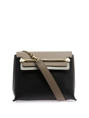 Clare leather shoulder bag