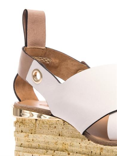 Chloé Tucson wedge sandals