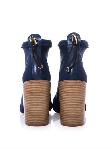 Chloé Cameron neoprene ankle boots