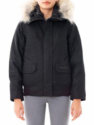 Canada Goose Aosta fur-trim quilted coat
