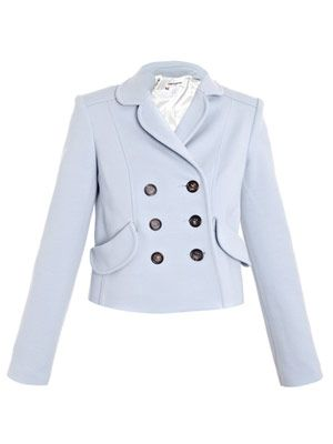 Porcelain blue jacket